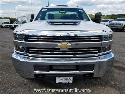 2017 Silverado 3500 Regular Cab DRW 4x4,  Reading Classic II Aluminum  Service Body #C72066 - photo 3
