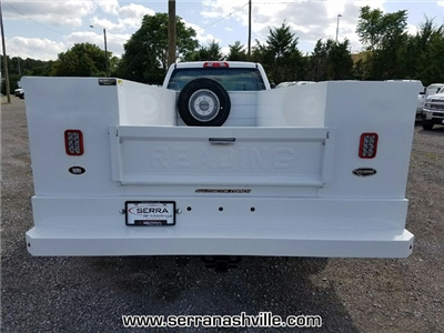 2017 Silverado 3500 Regular Cab DRW 4x4,  Reading Classic II Aluminum  Service Body #C72066 - photo 2