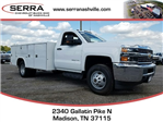 2017 Silverado 3500 Regular Cab DRW 4x4,  Reading Classic II Aluminum  Service Body #C72066 - photo 1