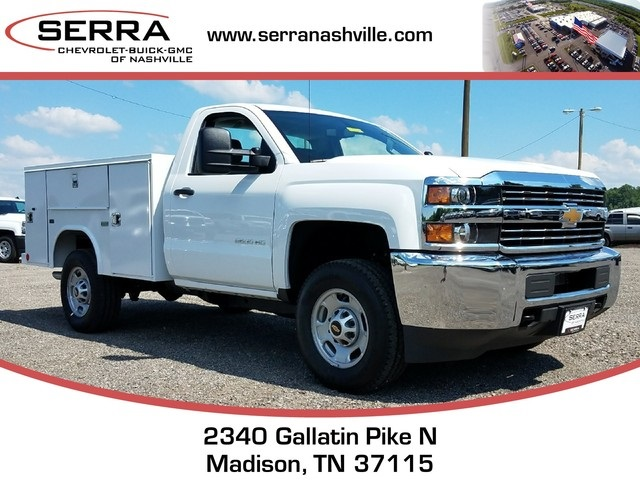 2017 Silverado 2500 Regular Cab 4x4,  Reading SL Service Body #C72364 - photo 1