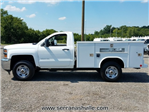 2017 Silverado 2500 Regular Cab 4x4,  Reading SL Service Body #C72364 - photo 3