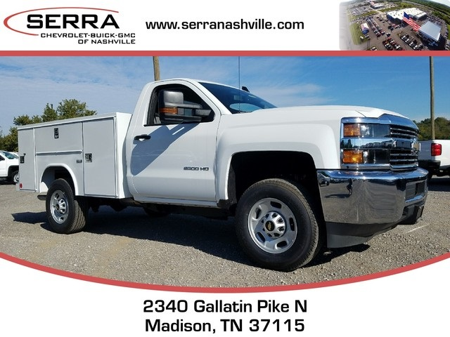 2017 Silverado 2500 Regular Cab, Reading SL Service Body #C72733 - photo 1