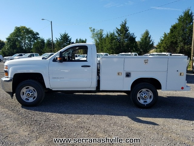 2017 Silverado 2500 Regular Cab, Reading SL Service Body #C72733 - photo 3