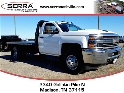 2018 Silverado 3500 Regular Cab DRW, Knapheide PGNB Gooseneck Platform Body #C80270 - photo 1