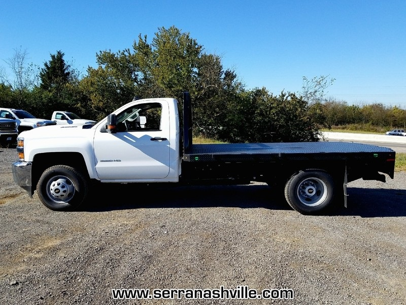 2018 Silverado 3500 Regular Cab DRW 4x2,  Knapheide Platform Body #C80271 - photo 5