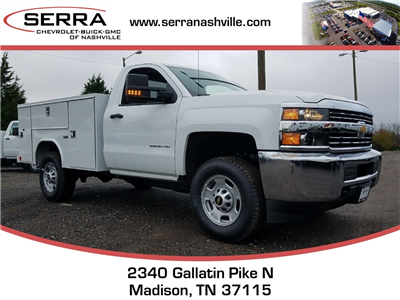 2018 Silverado 2500 Regular Cab 4x4, Reading SL Service Body #C80280 - photo 1