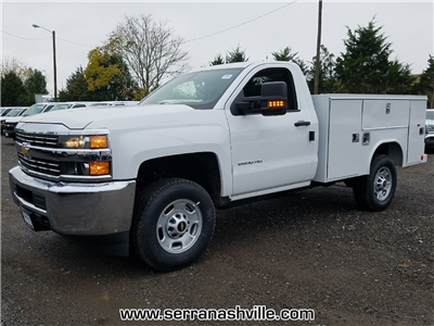 2018 Silverado 2500 Regular Cab 4x4, Reading SL Service Body #C80280 - photo 4