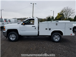 2018 Silverado 2500 Regular Cab 4x4, Reading SL Service Body #C80280 - photo 5