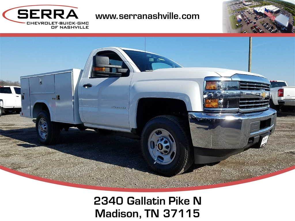 2018 Silverado 2500 Regular Cab, Reading SL Service Body #C80598 - photo 1