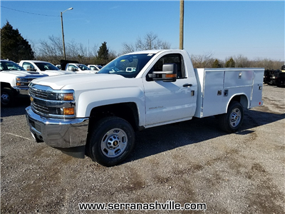 2018 Silverado 2500 Regular Cab, Reading SL Service Body #C80598 - photo 4