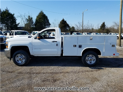 2018 Silverado 2500 Regular Cab, Reading SL Service Body #C80598 - photo 2