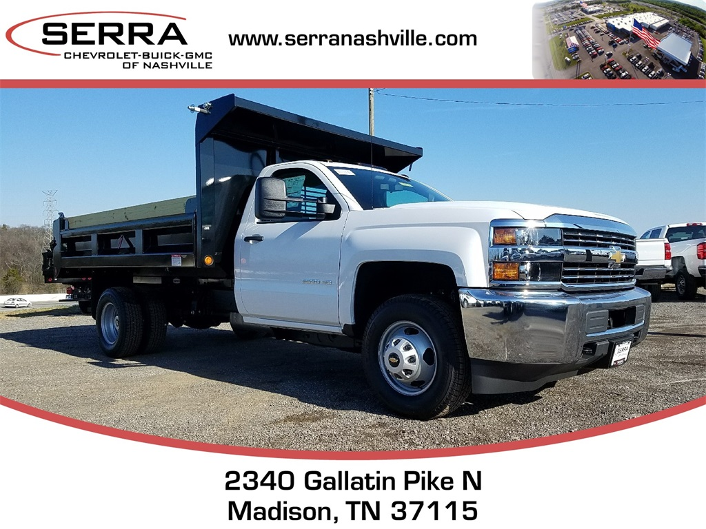 2018 Silverado 3500 Regular Cab DRW 4x2,  Freedom Load-Pro Dump Body #C80674 - photo 1
