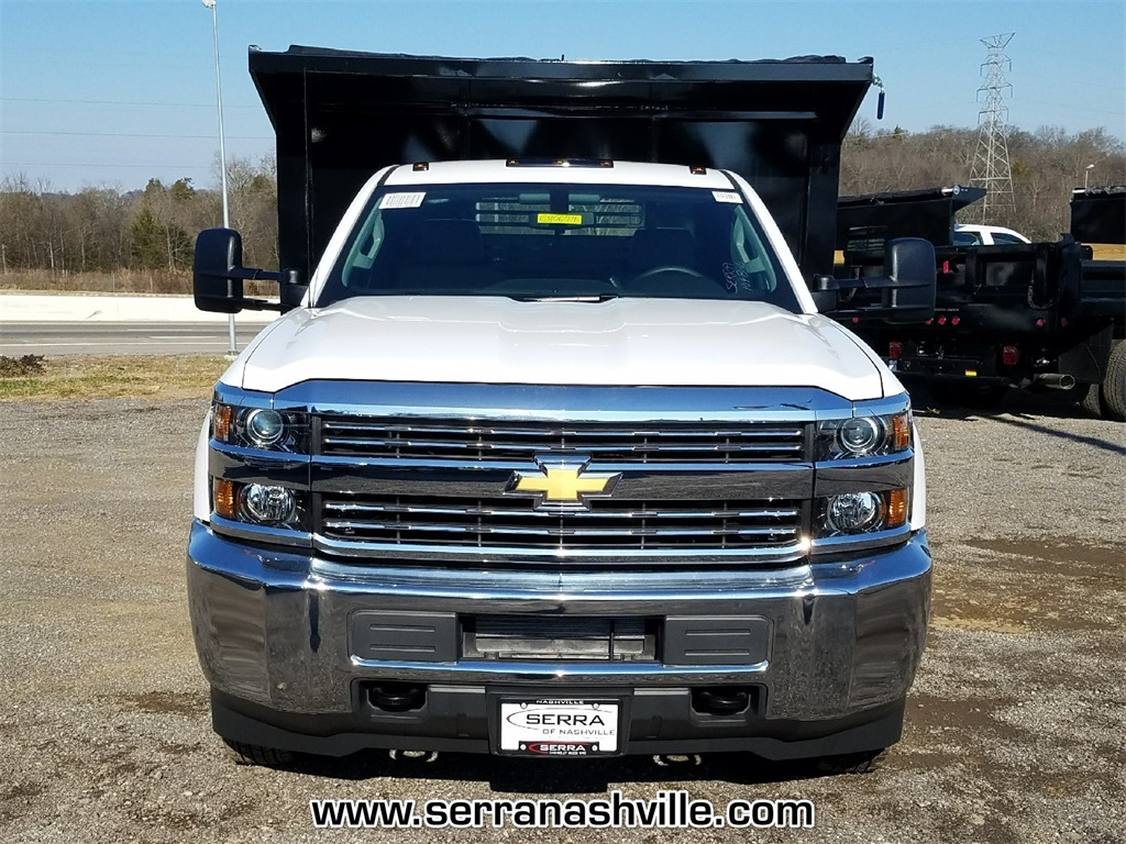 2018 Silverado 3500 Regular Cab DRW 4x2,  Freedom Dump Body #C80674 - photo 3