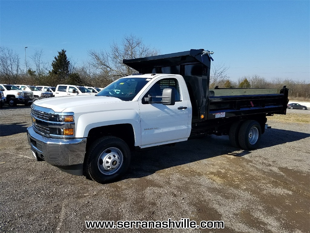 2018 Silverado 3500 Regular Cab DRW 4x2,  Freedom Dump Body #C80674 - photo 4