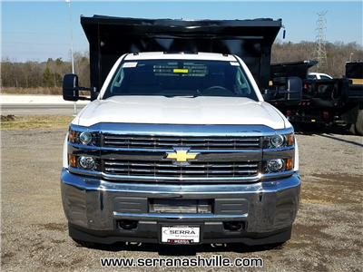 2018 Silverado 3500 Regular Cab DRW 4x2,  Freedom Load-Pro Dump Body #C80674 - photo 3