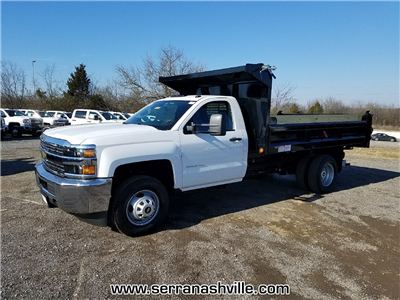2018 Silverado 3500 Regular Cab DRW 4x2,  Freedom Load-Pro Dump Body #C80674 - photo 4