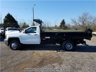 2018 Silverado 3500 Regular Cab DRW 4x2,  Freedom Load-Pro Dump Body #C80674 - photo 2