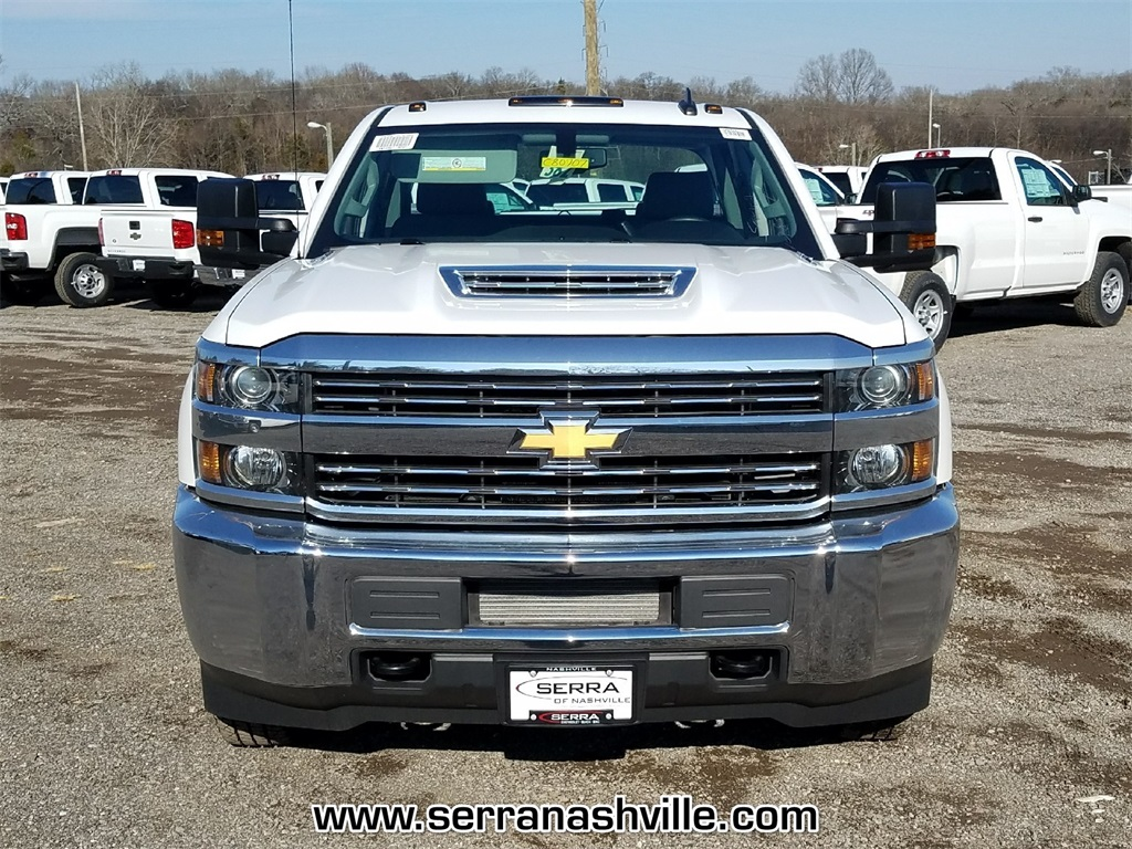 2018 Silverado 3500 Crew Cab DRW 4x4,  Reading Service Body #C80707 - photo 3