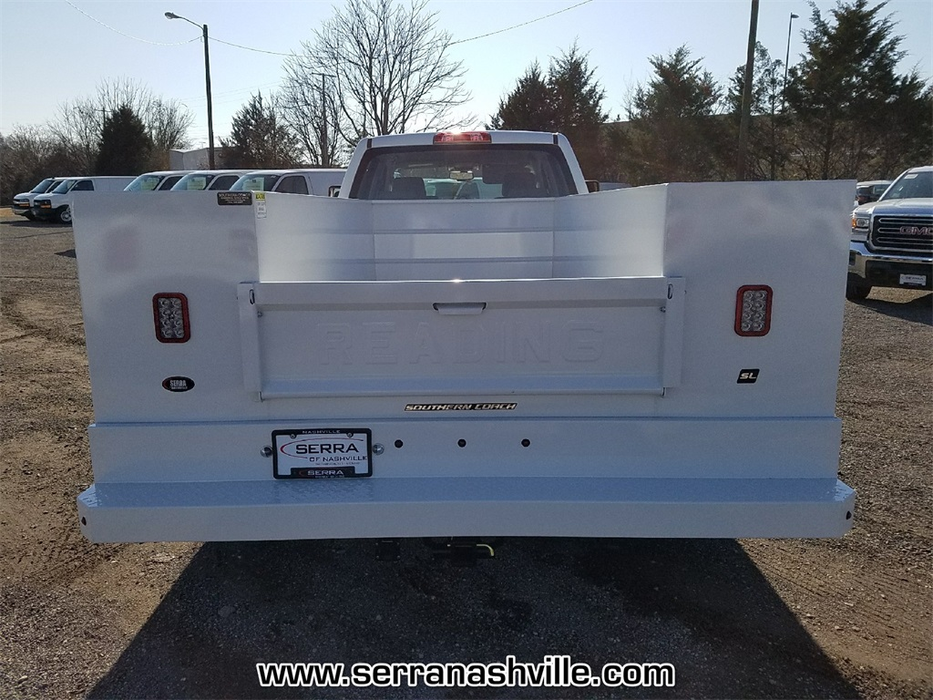2018 Silverado 3500 Crew Cab DRW 4x4,  Reading Service Body #C80707 - photo 5