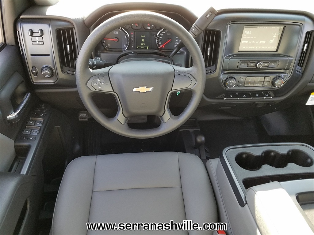 2018 Silverado 3500 Crew Cab DRW 4x4,  Reading Service Body #C80707 - photo 8
