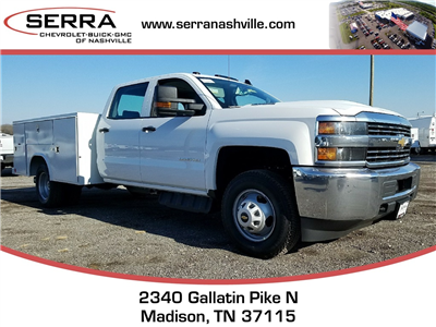 2018 Silverado 3500 Crew Cab DRW 4x4, Service Body #C80707 - photo 1