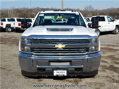 2018 Silverado 3500 Crew Cab DRW 4x4, Service Body #C80707 - photo 3