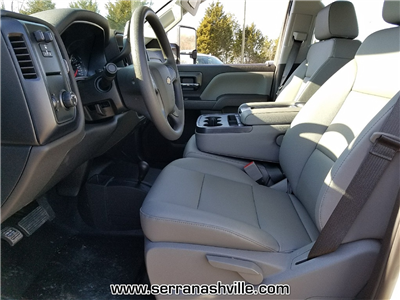 2018 Silverado 3500 Crew Cab DRW 4x4, Service Body #C80707 - photo 6