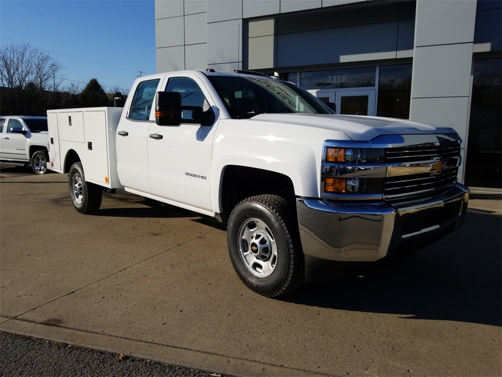 2018 Silverado 2500 Double Cab 4x4,  Warner Select II Service Body #C80849 - photo 1