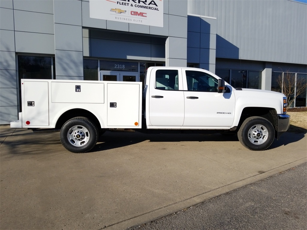 2018 Silverado 2500 Double Cab 4x4,  Warner Select II Service Body #C80849 - photo 9