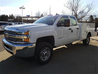 2018 Silverado 2500 Double Cab 4x4,  Warner Select II Service Body #C80849 - photo 4