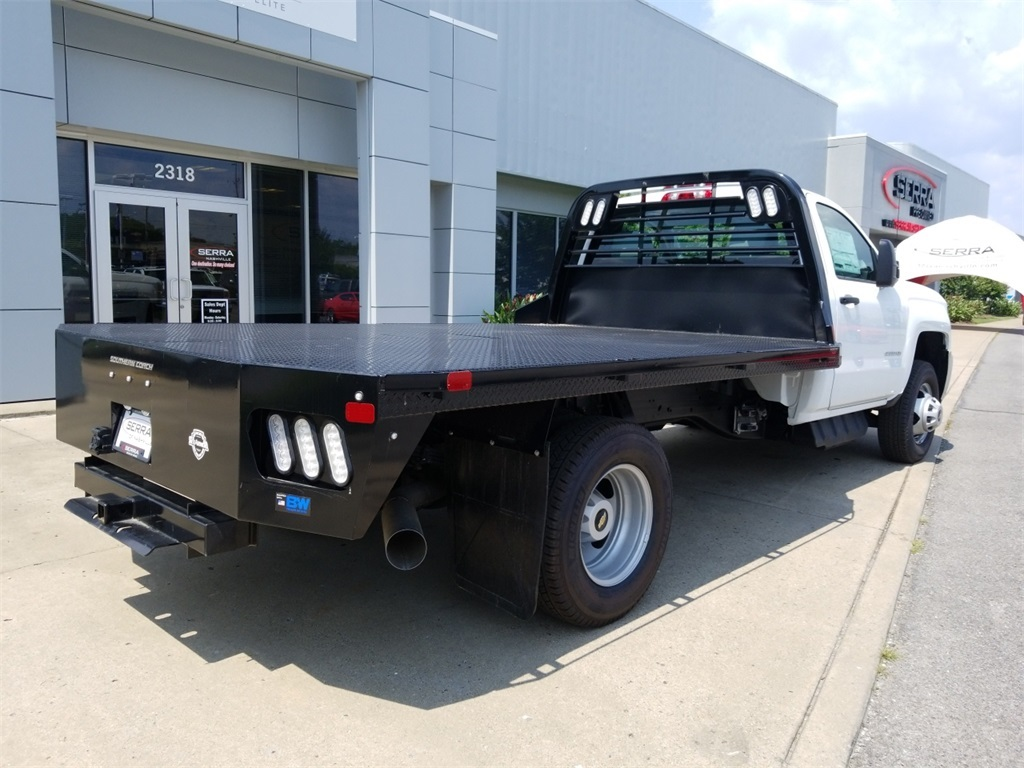 2018 Silverado 3500 Regular Cab DRW 4x2,  Freedom Platform Body #C80857 - photo 2