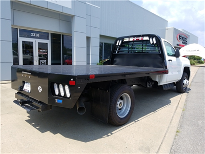 2018 Silverado 3500 Regular Cab DRW 4x2,  Freedom Rodeo Platform Body #C80857 - photo 2