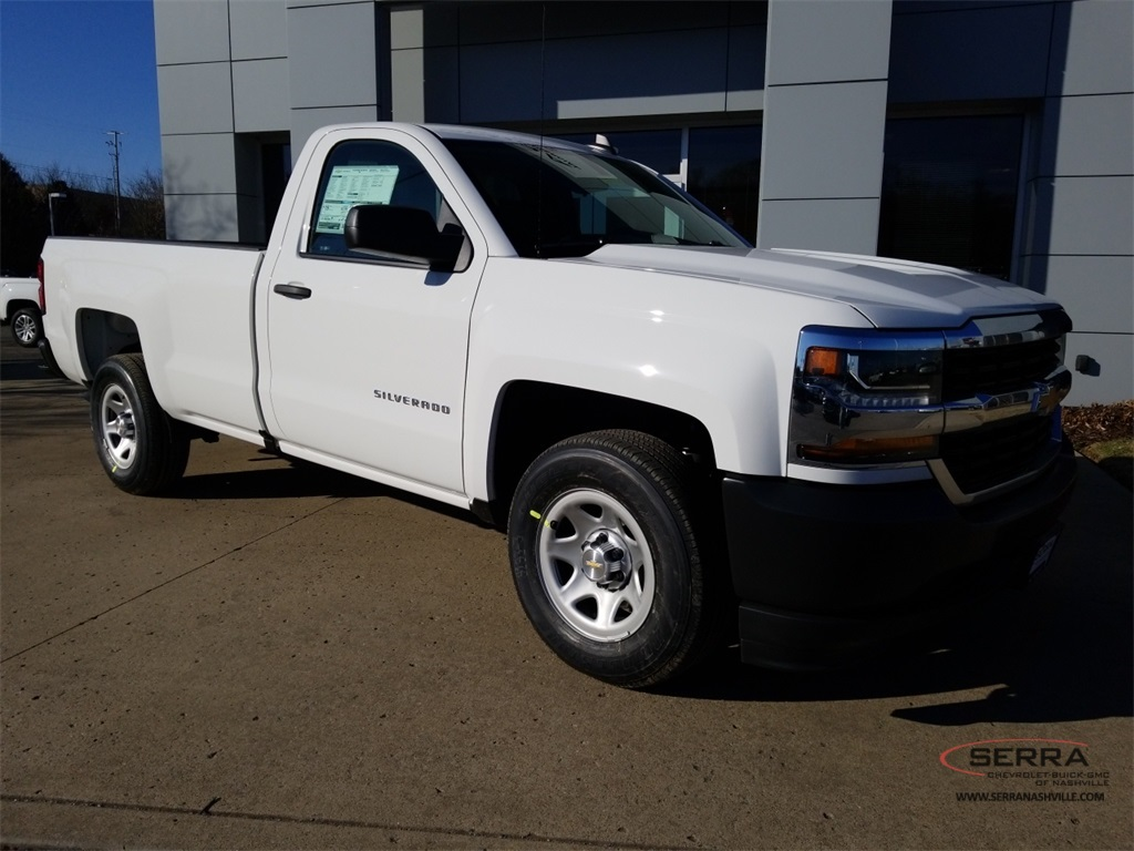 2018 Silverado 1500 Regular Cab, Pickup #C80906 - photo 3