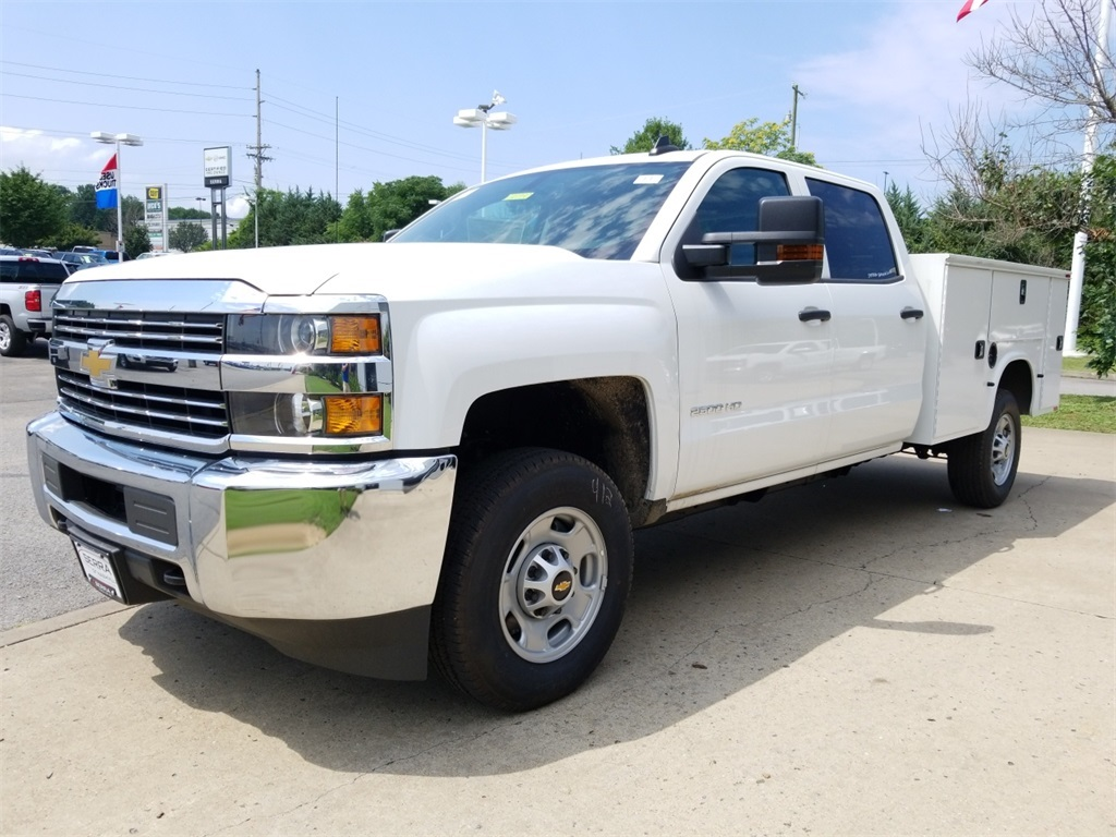 2018 Silverado 2500 Crew Cab 4x4,  Knapheide Service Body #C80930 - photo 4