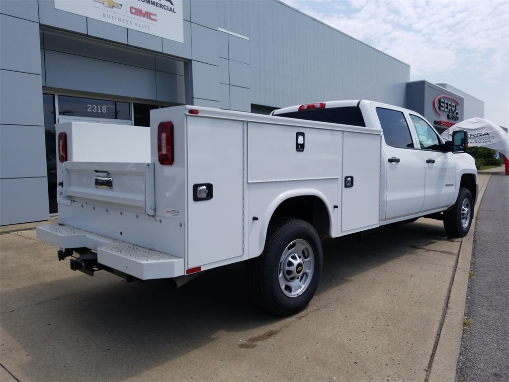 2018 Silverado 2500 Crew Cab 4x4,  Knapheide Service Body #C80930 - photo 2