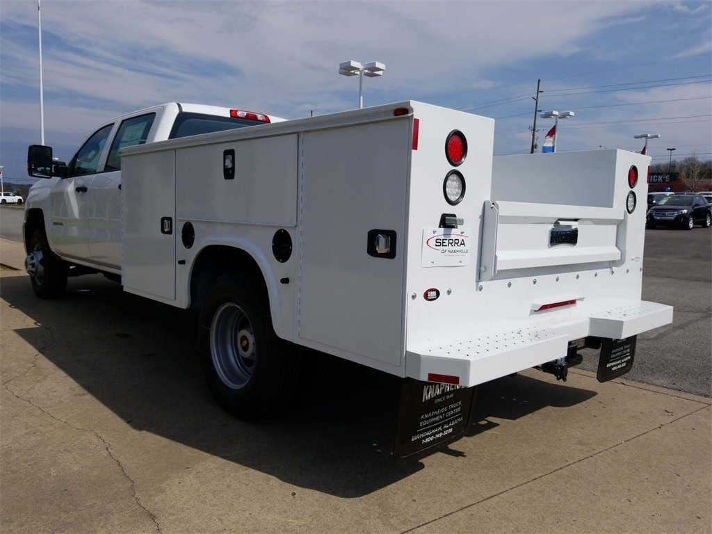 2018 Silverado 3500 Crew Cab DRW 4x4,  Service Body #C81139 - photo 6