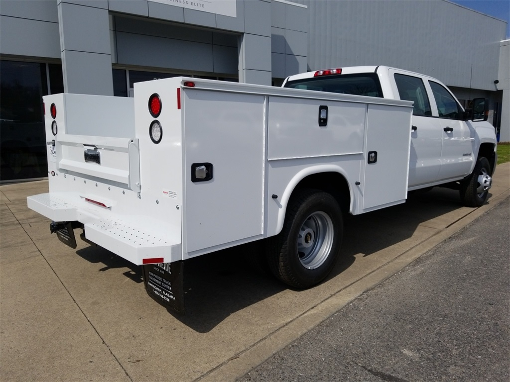 2018 Silverado 3500 Crew Cab DRW 4x4,  Service Body #C81139 - photo 2