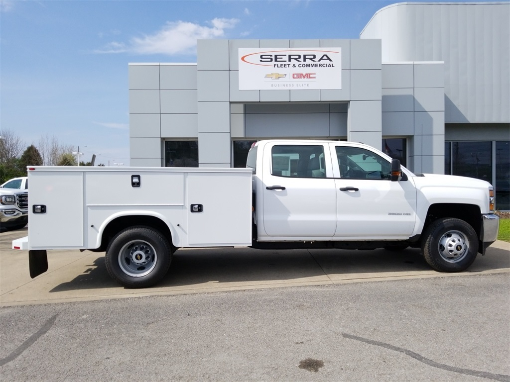 2018 Silverado 3500 Crew Cab DRW 4x4,  Service Body #C81139 - photo 8