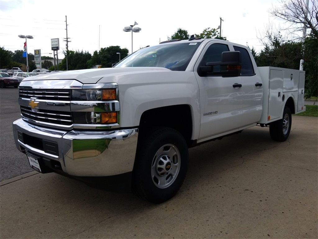 2018 Silverado 2500 Double Cab 4x4,  Warner Select II Service Body #C81922 - photo 4