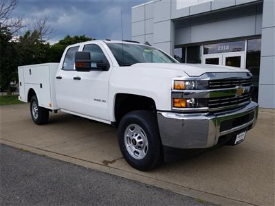 2018 Silverado 2500 Double Cab 4x4,  Warner Select II Service Body #C81922 - photo 1