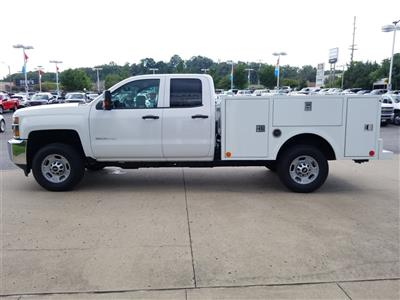 2018 Silverado 2500 Double Cab 4x4,  Warner Select II Service Body #C81922 - photo 5