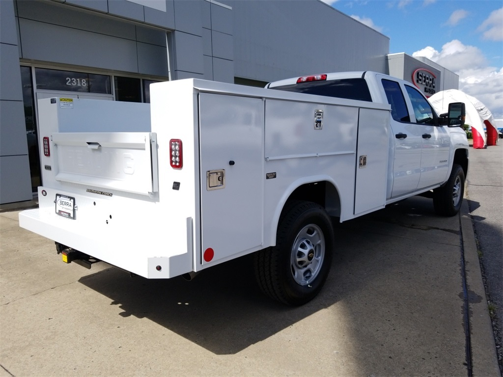 2018 Silverado 2500 Double Cab 4x4,  Reading SL Service Body #C81985 - photo 2