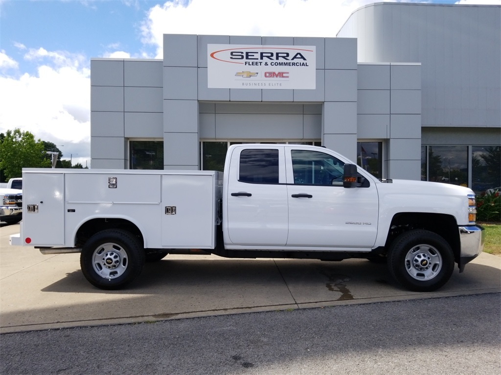 2018 Silverado 2500 Double Cab 4x4,  Reading Service Body #C81985 - photo 8