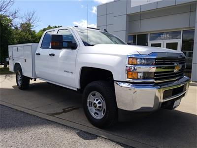 2018 Silverado 2500 Double Cab 4x4,  Reading SL Service Body #C81985 - photo 1