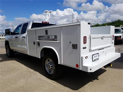 2018 Silverado 2500 Double Cab 4x4,  Reading SL Service Body #C81985 - photo 6