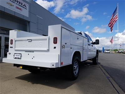 2018 Silverado 2500 Double Cab 4x4,  Reading SL Service Body #C81985 - photo 9