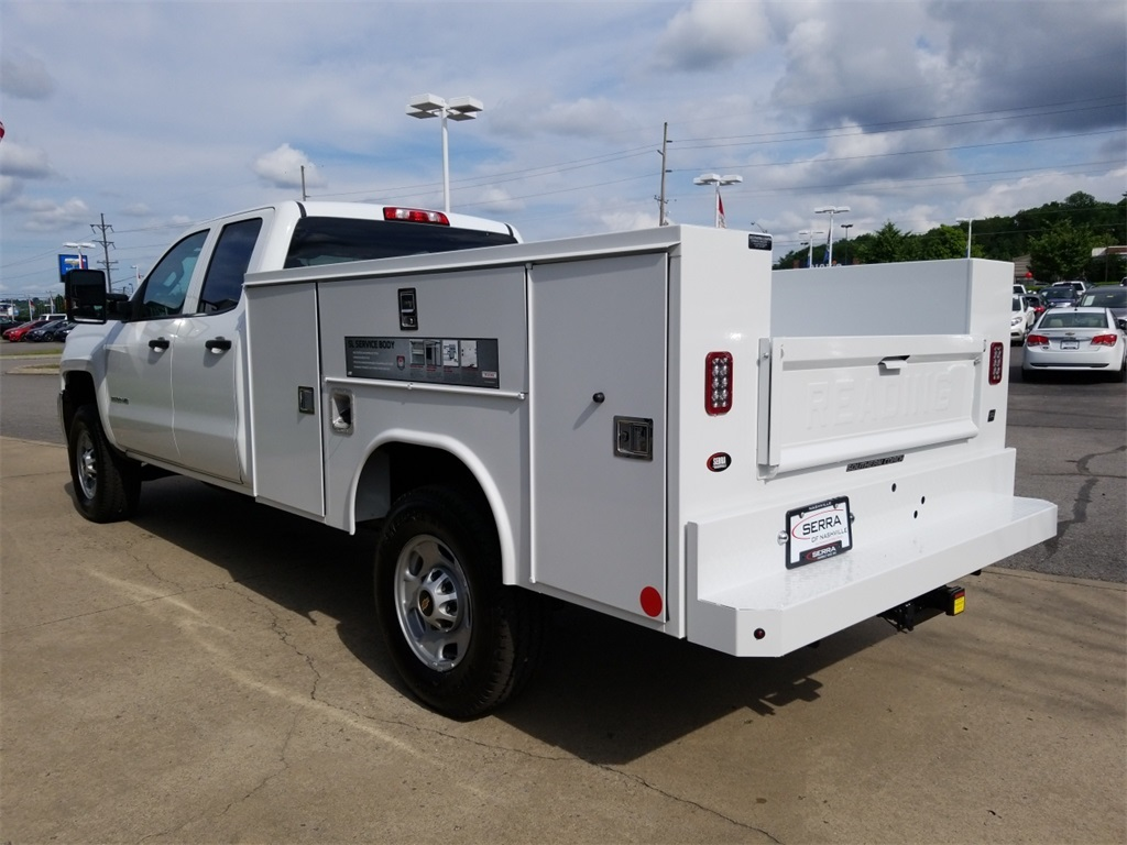 2018 Silverado 2500 Double Cab 4x4,  Reading SL Service Body #C81986 - photo 6