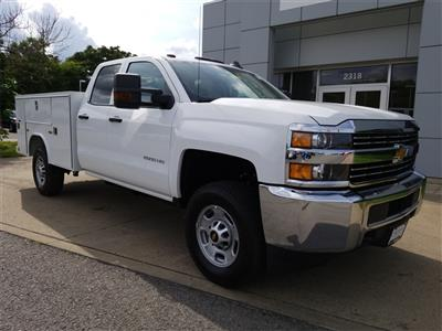 2018 Silverado 2500 Double Cab 4x4,  Reading SL Service Body #C81986 - photo 1