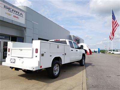 2018 Silverado 2500 Double Cab 4x4,  Reading SL Service Body #C81986 - photo 10