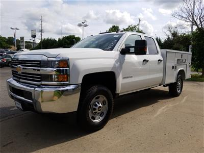 2018 Silverado 2500 Double Cab 4x4,  Reading SL Service Body #C81986 - photo 4